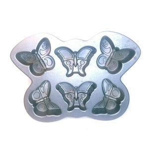 Nordic Ware Butterfly Cakelet Muffin Pan
